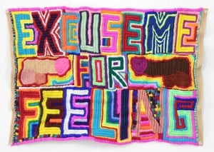 Untitled (Excuse Me For Feeling) by Paul Yore contemporary artwork