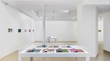 Contemporary art exhibition, Clément Rodzielski, Animes and magazines, paintings on paper at Galerie Chantal Crousel, Paris