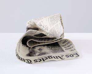 Newspaper 20-8 by Kimiyo Mishima contemporary artwork