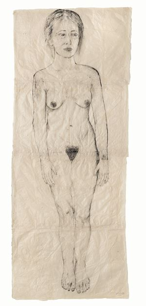 Standing Still by Kiki Smith contemporary artwork