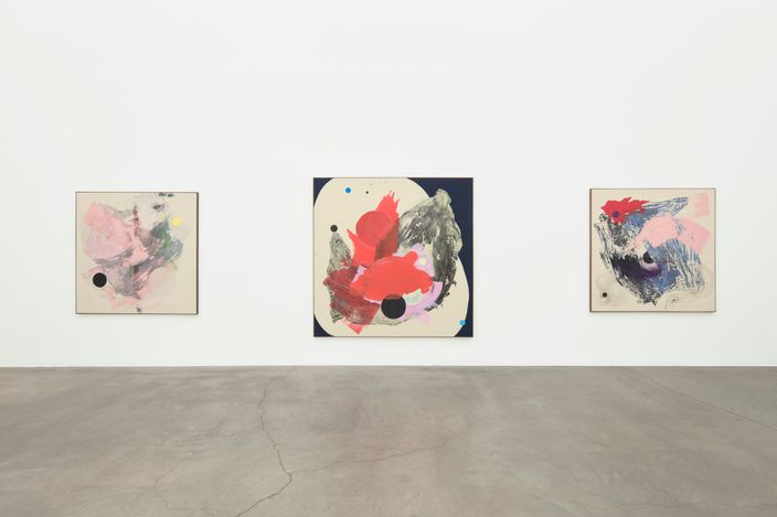 Exhibition view: Sigrid Sandström, Figure Ground, Anat Ebgi, Culver City, 2660 S La Cienega Blvd (13 March–24 April 2021). Courtesy Anat Ebgi, Los Angeles.