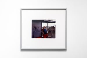 Woman at Bus Stop, Mill Hill, North London by Paul Graham contemporary artwork