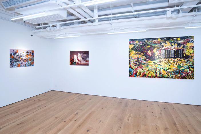 Exhibition view: Group exhibition, Shining Moment 光輝,Tang Art Foundation, Hong Kong (15 May–17 July 2021). Courtesy Tang Contemporary Art, Hong Kong.