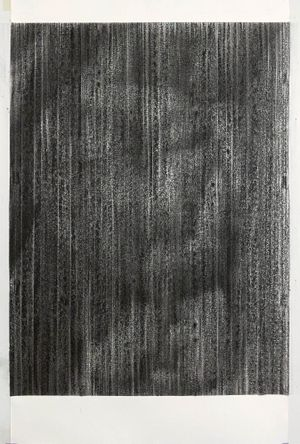 untitled charcoal II (inside out) by Sam Harrison contemporary artwork