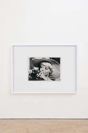 Woman With A Camera (1967) by Anne Collier contemporary artwork