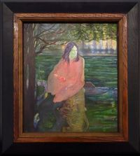 The Restoration of Bernice by Jason Greig contemporary artwork painting