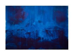 Blue Dark by Lorna Simpson contemporary artwork