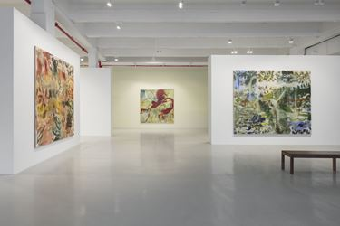 Exhibition view: Zhang Enli, The Garden, Hauser & Wirth 22nd Street, New York (25 January–7 April 2018). © Zhang Enli. Courtesy the Artist and Hauser & Wirth.