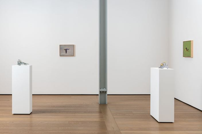 Exhibition view: Erik Lindman,Parsifal, Almine Rech, London (27 November 2019–18 January 2020). Courtesy the Artist and Almine Rech.