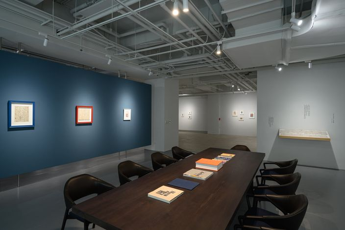 Exhibition view:Tina Keng Gallery: Masters – Wu Dayu, Forefather of Chinese Abstraction,Tina Keng Gallery, Taipei (20 March–8 May 2021). CourtesyTina Keng Gallery.