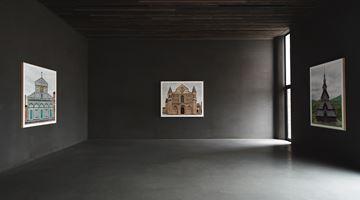 Contemporary art exhibition, Markus Brunetti, Romanesque FACADES at Axel Vervoordt Gallery, Antwerp, Belgium