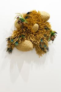 The Intermediate – Unmanned Peacock Rocks by Haegue Yang contemporary artwork sculpture, mixed media