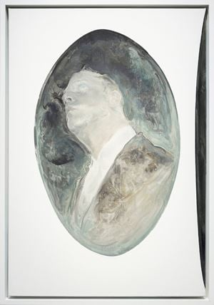 Oval Portrait of Thomas No. 2 by Mao Yan contemporary artwork