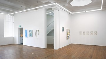 Contemporary art exhibition, Stella Corkery, Sriwhana Spong, Pry the Willow Open at Michael Lett, Auckland