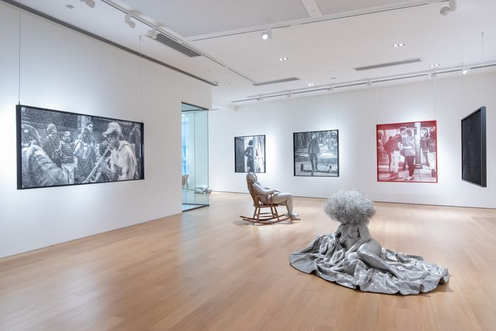 Exhibition view: Park Seungmo,Park Seungmo Solo Exhibition, Tang Contemporary Art, Hong Kong (24 June–30 July 2021). Courtesy Tang Contemporary Art.