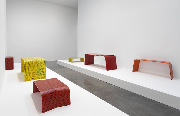 Exhibition view: Marc Newson, Gagosian, West 21st Street, New York (17 January–20 February 2019). Artwork © Marc Newson. Courtesy Gagosian. Photo: Rob McKeever.