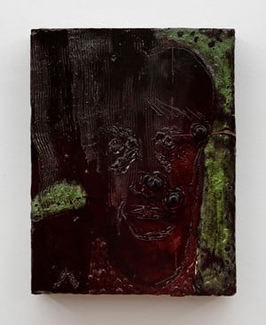 Painting for T (Alfred Painting 10) by Johan Creten contemporary artwork