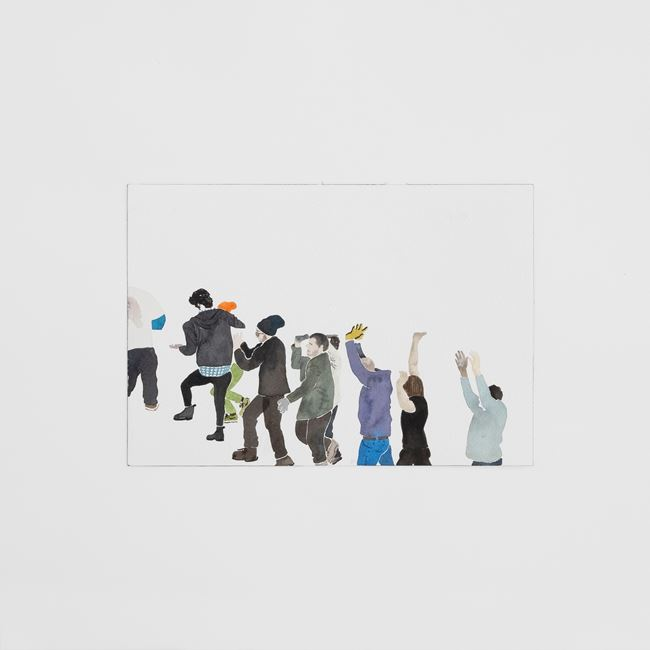 Stories of Almost Everyone by John Ziqiang Wu contemporary artwork