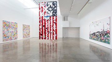 "Contemporary art exhibition, Murakami & Abloh, ""AMERICA TOO"" at Gagosian, Beverly Hills"