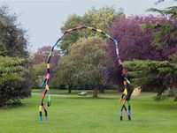 Someone and Someone by Eva Rothschild contemporary artwork sculpture
