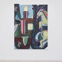 War Horse by Simon Blau contemporary artwork painting