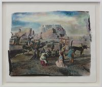 Silk Road #7 by Chen Nong contemporary artwork mixed media