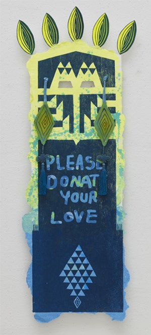 Please Donate Your Love by Eko Nugroho contemporary artwork