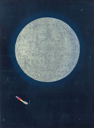 Lunography by Tom Hammick contemporary artwork