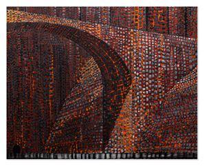 Bridge #1 by Derek Cowie contemporary artwork
