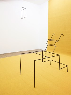 Tickle the Sketch by Thea Djordjadze contemporary artwork installation
