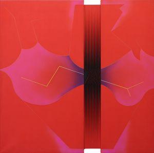 Fiore di Passioni by Alberto Biasi contemporary artwork