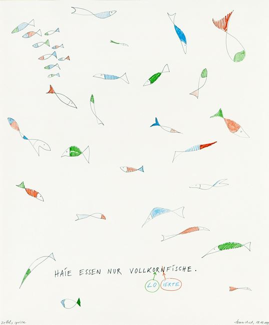 #443 zettels speise by Tomas Schmit contemporary artwork
