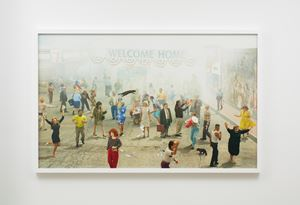 Welcome Home by Alex Prager contemporary artwork