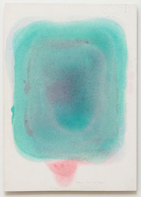o. T. by Gotthard Graubner contemporary artwork