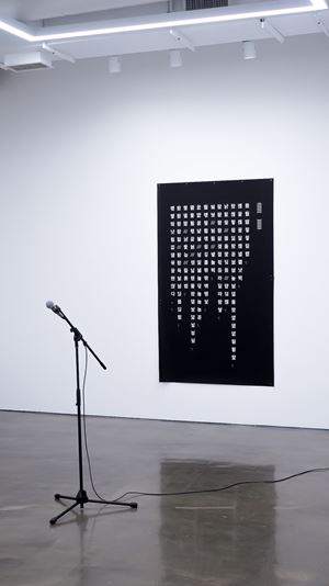 Words Scales in the Mouth by On Kim contemporary artwork