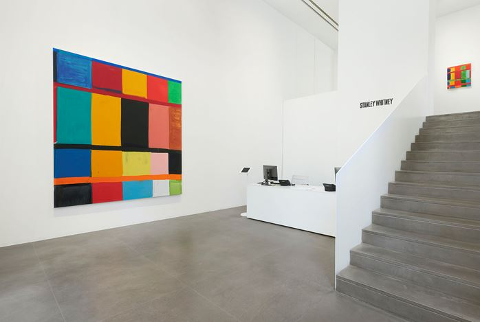 Exhibition view: Stanley Whitney, Gagosian, Rome (10 September–17 October 2020). Courtesy Gagosian and the artist. Photo: Matteo D'Eletto, M3 Studio.