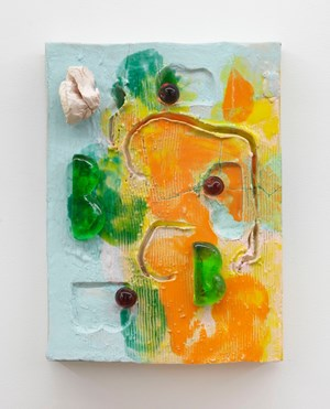 Yellow (Alfred Painting 23) by Johan Creten contemporary artwork