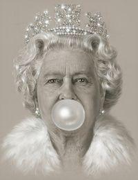 Queen Bubblegum by Michael Moebius contemporary artwork print