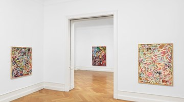 Contemporary art exhibition, Richard Hawkins, Collage Paintings, Gesture Paintings at Galerie Buchholz, Berlin