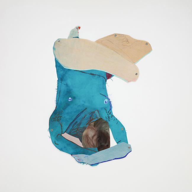 Bluet 蓝花草 by Sarah Faux contemporary artwork