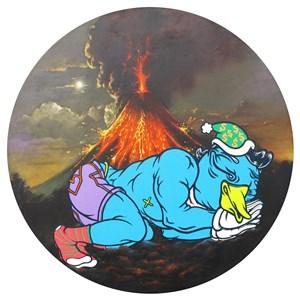 The Dreamer by Uji 'Hahan' Handoko Eko Saputro contemporary artwork