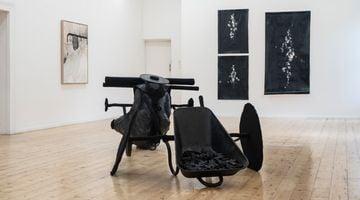 Contemporary art exhibition, Group Exhibition, Black Luminosity | Collaboration Gcotyelwa Mashiqa at SMAC Gallery, Stellenbosch