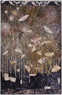 Spinners by Kiki Smith contemporary artwork mixed media, textile