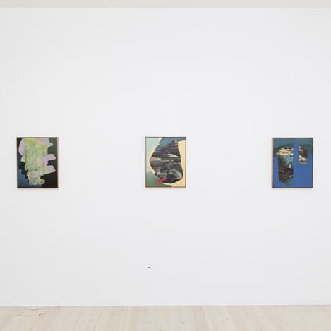 Exhibition view: Alice Wormald, Partly Altered Aperture, Gallery 9, Sydney (21 February–17 March 2018). Courtesy Gallery 9, Sydney.