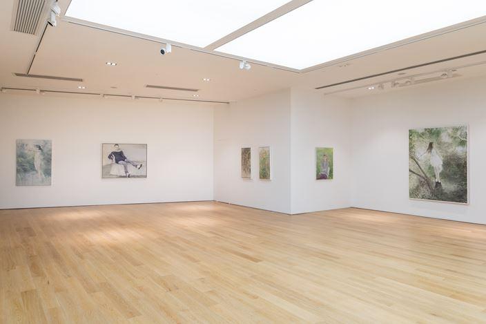 Exhibition view: He Duoling, Thunder Afar, Tang Contemporary Art, Hong Kong (28 May–30 June 2020). Courtesy Tang Contemporary Art.