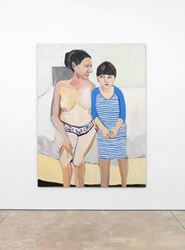 Exhibition view: Chantal Joffe, Solo Exhibition, Cheim & Read, New York (25 May–30 June 2017). Courtesy of Cheim & Read.