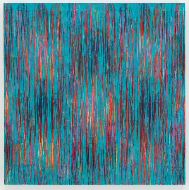 Blue Ocean - RFGA by Ghada Amer contemporary artwork