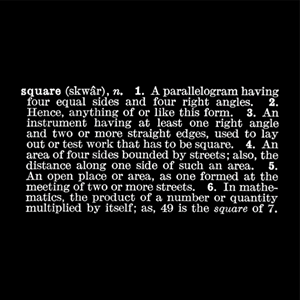 Titled [Art as Idea (as Idea)] [Square] by Joseph Kosuth contemporary artwork