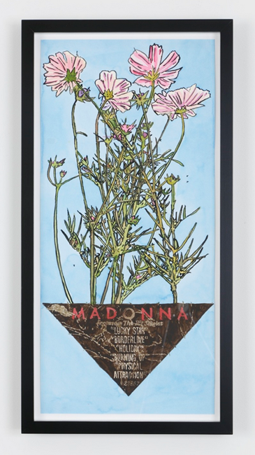 Floating Planter by Dave Muller contemporary artwork