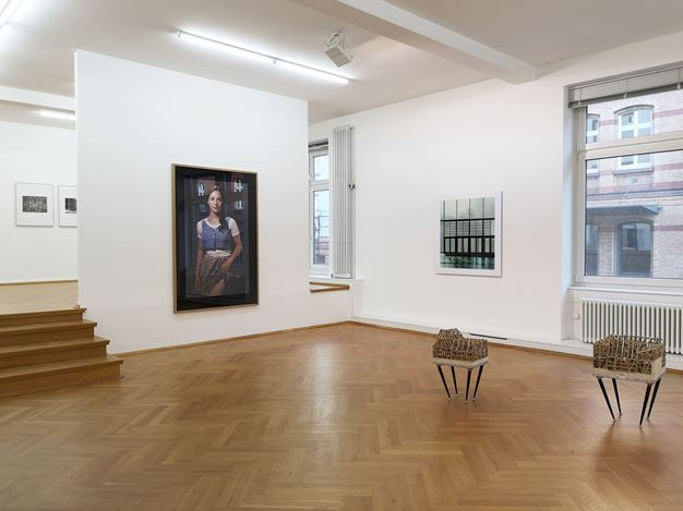 Exhibition view: Group Exhibition, Silver Lining, Bernhard Knaus Fine Art, Frankfurt (30 May–18 July 2020). Courtesy Bernhard Knaus Fine Art.